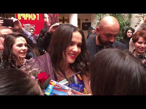 Natalia Oreiro In Yerevan, Armenia