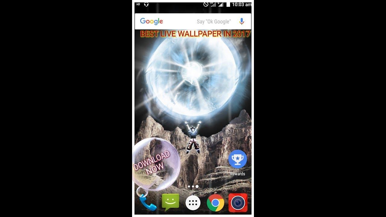 Dragonballz Super Spirit Bomb Live Wallpaper For Android 2017 Hd 3d