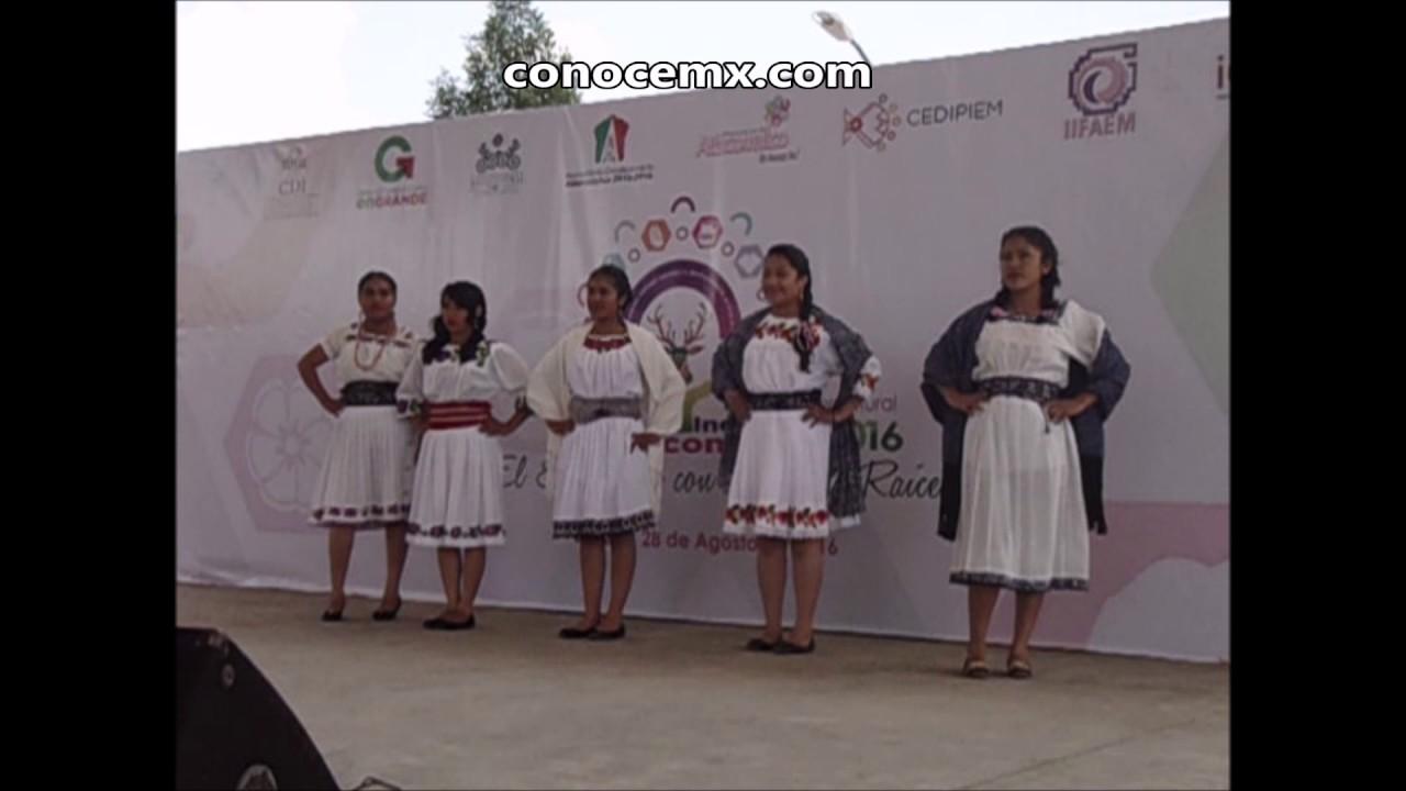 Desfile De Vestidos Tradicionales Mexicanos En Altlacomulco