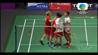Download Video Kevin/Marcus vs Ardianto/Fajar di Final Bulutangkis Asian Games MP3 3GP MP4