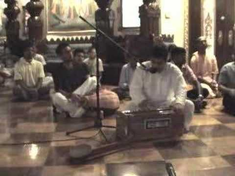 Nrsimhadev Prayers sung by Amala Kirtan Prabhu