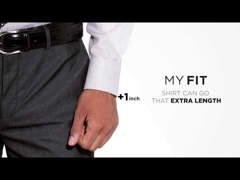 Van Heusen My Fit - Guaranteed To Fit