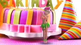 Стихи с днем рождения короткие прикольные видео открытки.