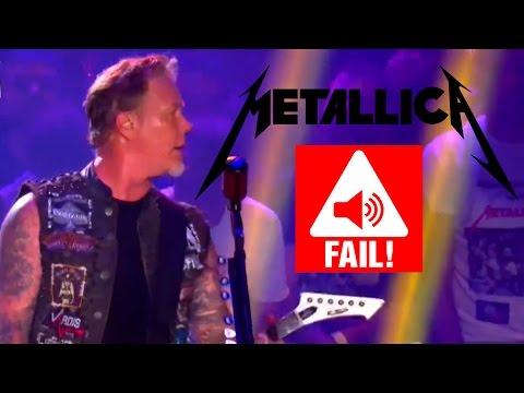 Metallica - LIVE SOUND FAIL 2015 (Ride The Lightning) Brasil 2015