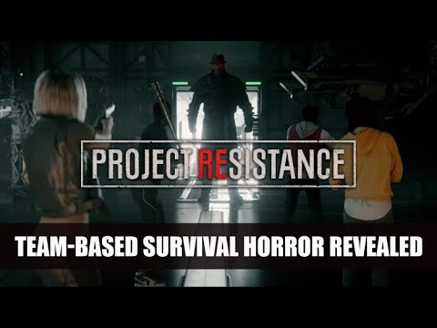 Multiplayer Horror Game - Project Resistance Trailer
