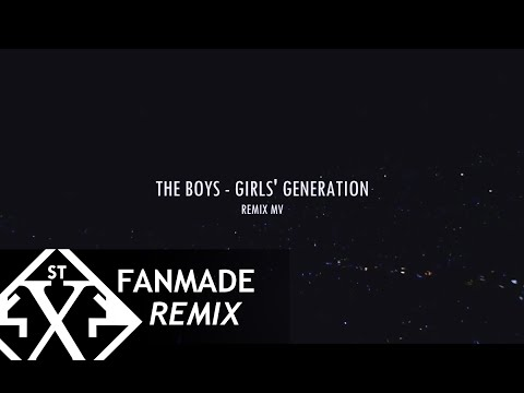 Girls' Generation [소녀 시대 SNSD] - The Boys Remix (Justin Levai) [MV]