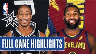 SPURS at CAVALIERS   FULL GAME HIGHLIGHTS   March 8, 2020