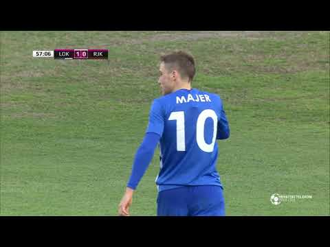 Lokomotiva   Rijeka 1:0 - 15. kolo (2017./2018.)