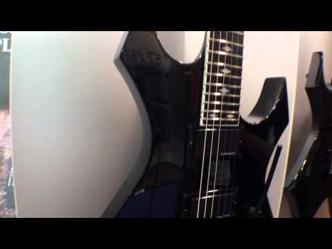 2014 Winter NAMM Show - BC Rich Warlock Series Electric Guitars