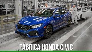 Fábrica da Honda - Produção do Novo Civic 2017