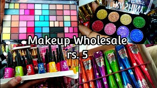COSMETICS BEAUTY PRODUCTS WHOLESALE MARKET | bridal makeup kit,lipstick,nailpolish