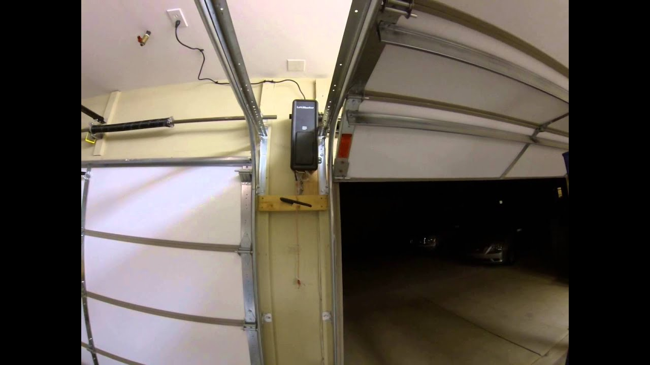 Liftmaster 8500 New Install Youtube