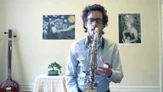 Oded Tzur, Indian Classical Music on the Saxophone