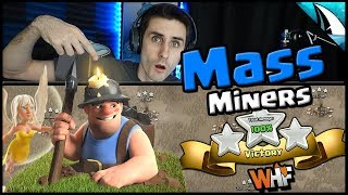 Easy to User Miners!! Town Hall 10 and 11 | Three Stars with Miners | Clash of Clans