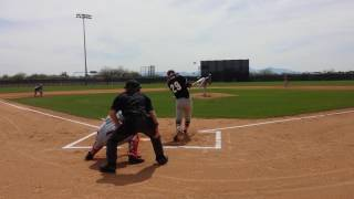 Brady Anderson AB- base hit 8-9 gap