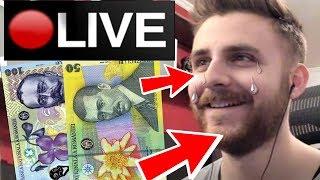 I-AM DONAT LUI IRAPHAHELL 200 DE EURO PE LIVESTREAM !