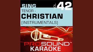 Cry Out To Jesus Karaoke Instrumental Track In the