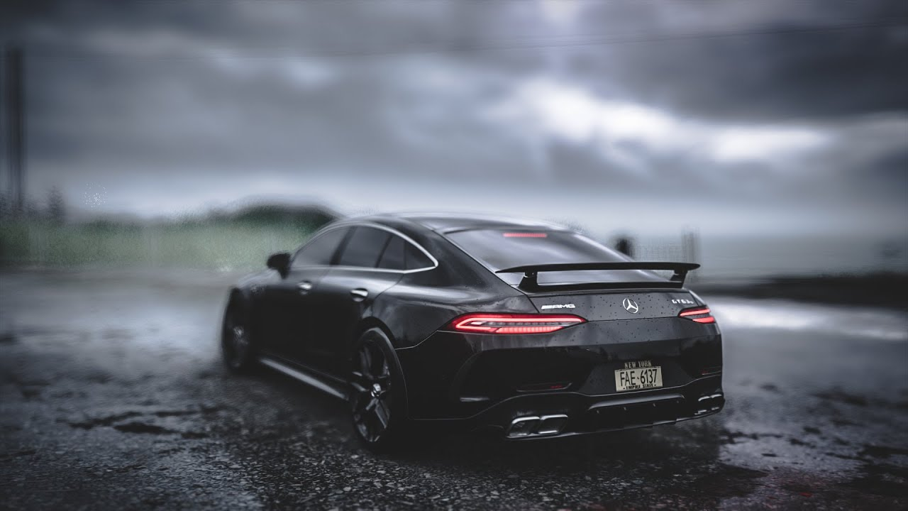 SEV - Maybach (relaiXX Remix) | Mercedes GT63s AMG Drift Showtime in Storm