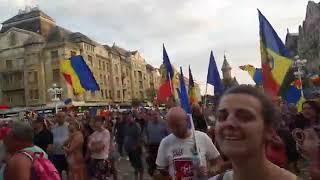 Protest impotriva guvernului, la Timisoara - 11 august 2018