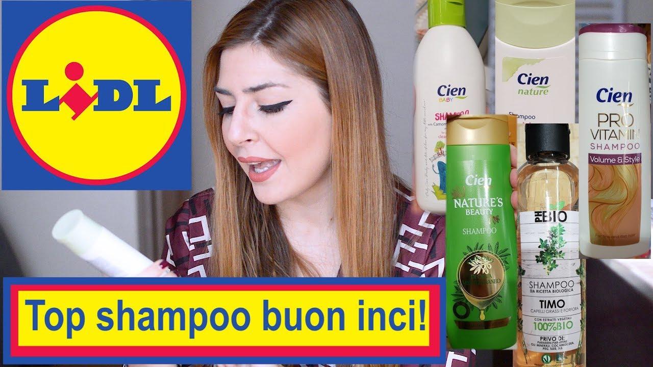 Shampoo Lidl Con Buon Inci Recensione Dei Migliori Shampoo Da Supermercato Naturali E Non Review Youtube