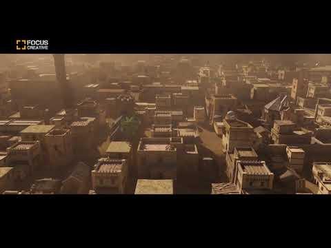 Jerusalem City 3D Animation