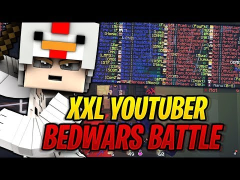 Riesiges Bedwars YOUTUBER
