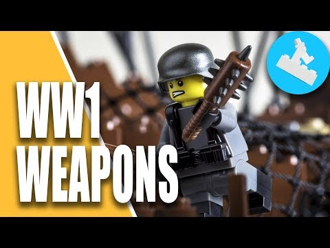 LEGO Battlefield 1 Weapons // Brickarms Custom WW1 Weapon Pack Review / Unboxing