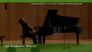 Ilya Kondratiev plays Liszt: Fantasy and Fugue on the Theme B-A-C-H - Piano Competition 2nd Round