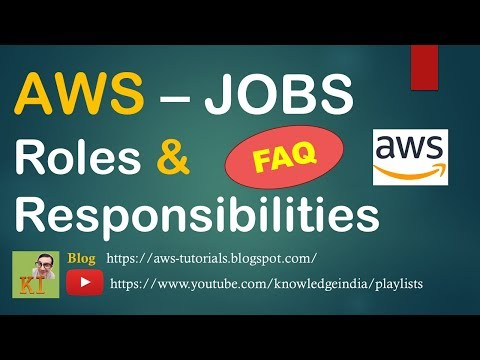AWS Jobs Questions - #DBA #Roles & #Responsibilities on Cloud - #Freshers MUST WATCH from YouTube · Duration:  18 minutes 39 seconds