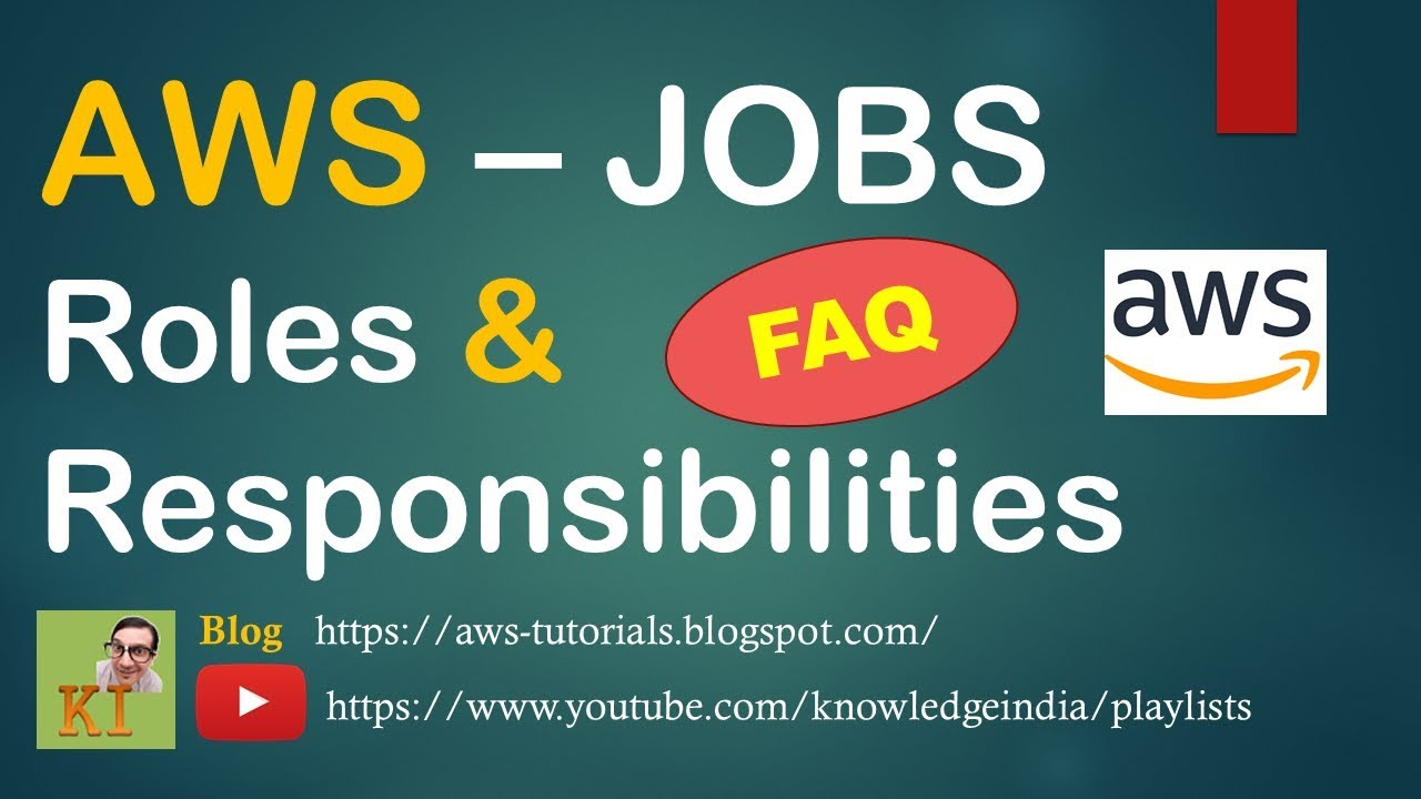 AWS Jobs Questions - #DBA #Roles & #Responsibilities on Cloud - #Freshers  MUST WATCH
