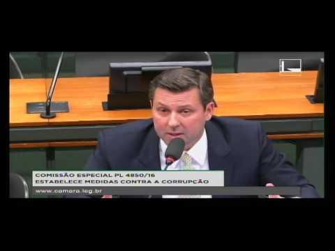 PL 4850/16 - ESTABELECE MEDIDAS CONTRA A CORRUPÇÃO - Reunião Deliberativa - 20/09/2016 - 09:43