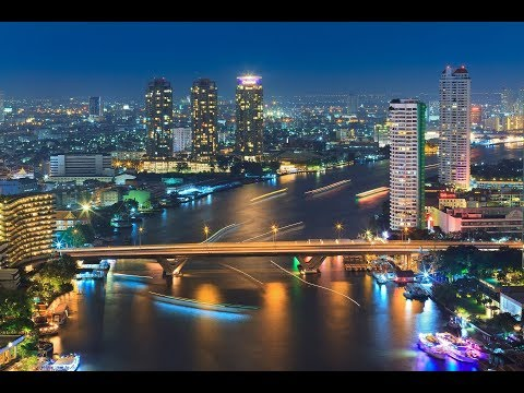 BANGKOK AMAZING SKYLINE NIGHT & DAY. BANGKOK, THAILAND