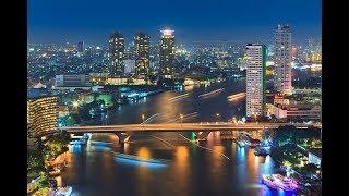 BANGKOK AMAZING SKYLINE NIGHT & DAY. BANGKOK, THAILAND