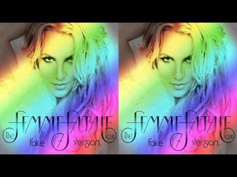 Britney Spears - Gasoline (Femme Fatale Tour Fake Studio Version)