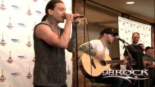 "Shinedown ""Sound of Madness"" acoustic - 98RockFest 2012"