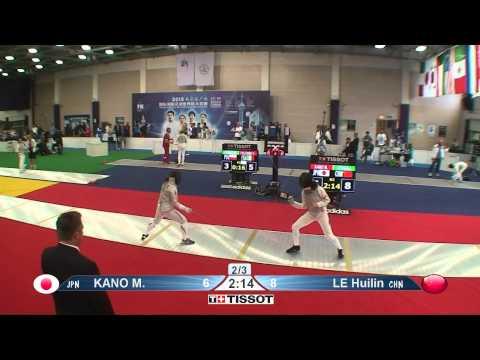 Shanghai 2015 WF GP T64 13 red Le H CHN vs Kano M JPN