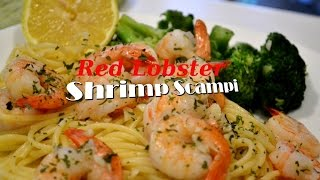 Homemade Shrimp Scampi(red Lobster)