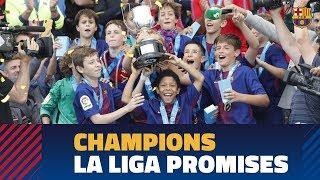 LA LIGA PROMISES (Final): FC Barcelona – RCD Espanyol (1-0) thumbnail