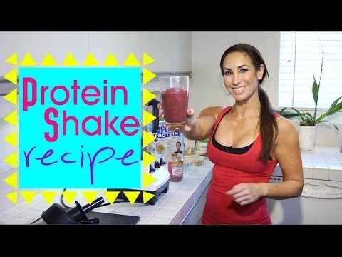 Gluten Free Protein Shake Recipe for Weight Loss | Natalie Jill