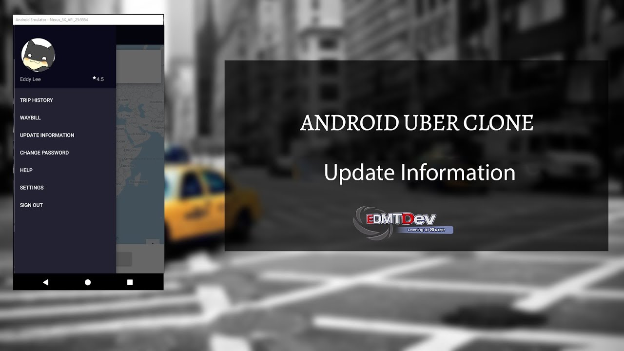 Android Uber Clone - Part 23 Driver app User Information Update