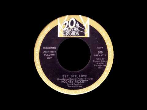 Nooney Rickett - Bye Bye Love (The Everly Brothers Cover) mp3