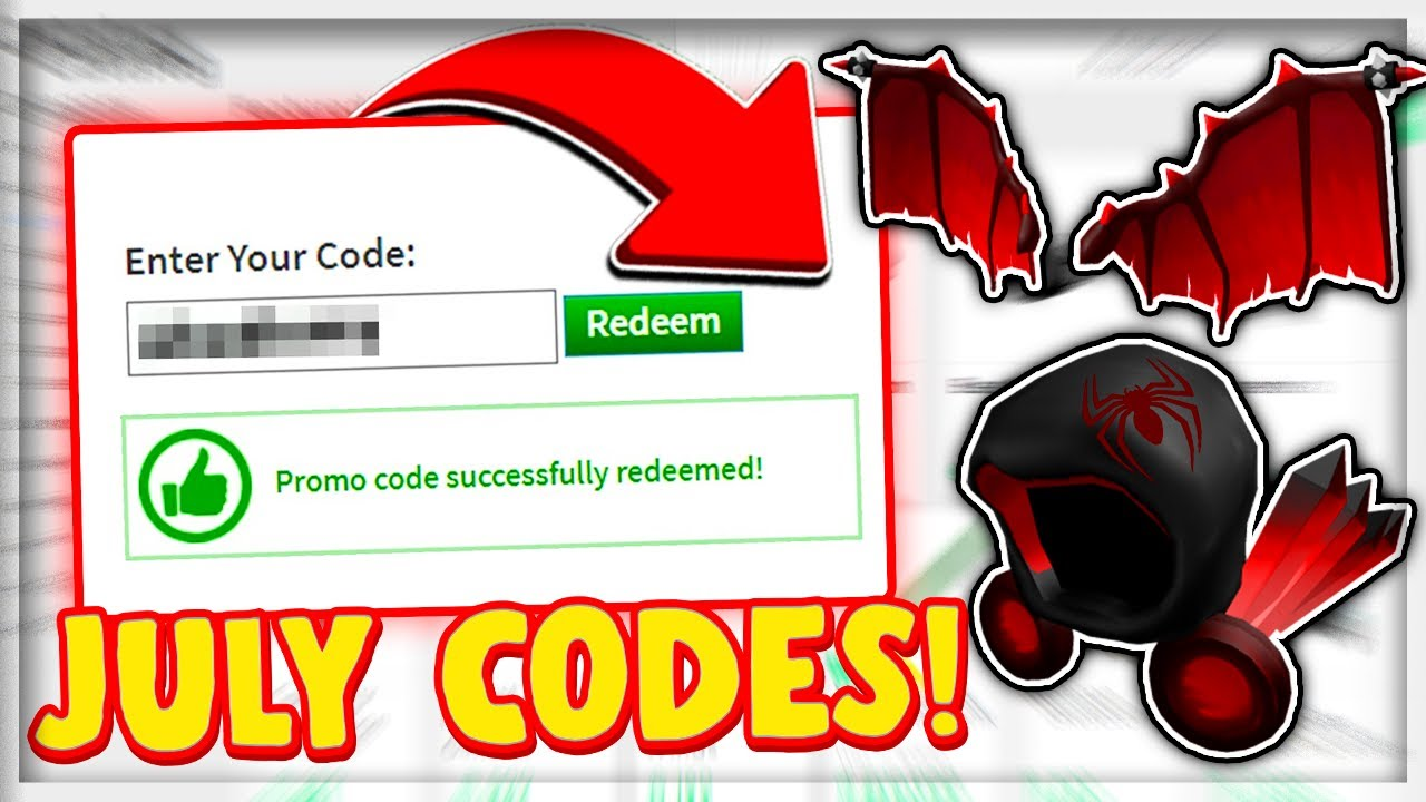 JULY* ALL NEW *WORKING* PROMO CODES in ROBLOX !?! (2020 ...