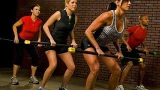 Упражнения с бодибаром для ног и пресса (часть 2)- Training Legs and ABS with bodybar (part 2)