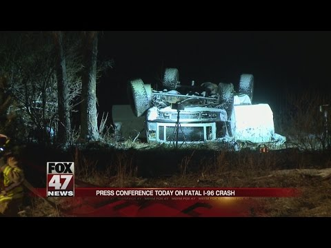 Press conference today to discuss fatal I-96 crash