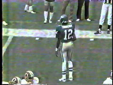 2nd down punt, Eagles-Redskins 1986
