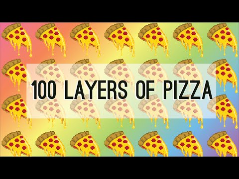 100 Layers of Cheese Pizza!