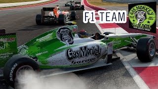 Gas Monkey F1 Team Car - Project Cars 2 Mods Skin + Download PC HD