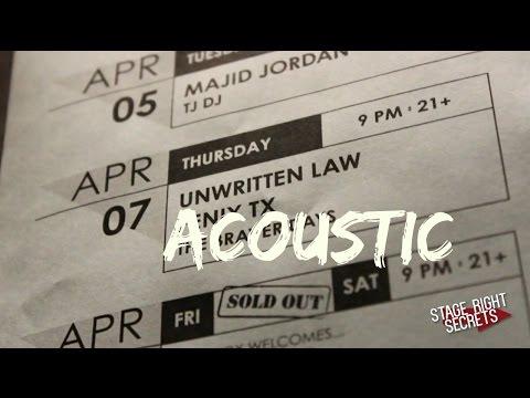 """Belongs to You"" Unwritten Law Acoustic!"