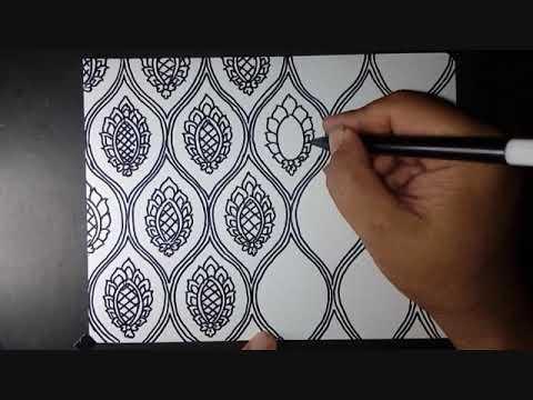 Motif Batik Bagus Dan Mudah Digambar Youtube