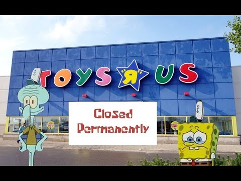 Spongebob - Closing Time At Toys R Us
